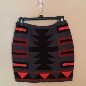 Rachel Roy | New Southwestern Bandage Skirt